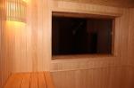 панорамное окно в парилке